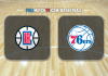 Los Angeles Clippers vs Philadelphia 76ers