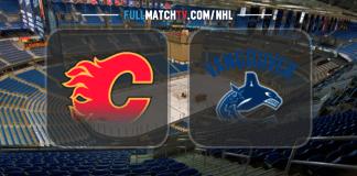 Calgary Flames vs Vancouver Canucks
