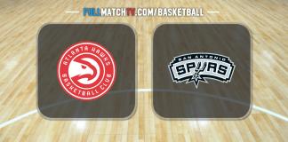 Atlanta Hawks vs San Antonio Spurs
