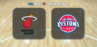 Miami Heat vs Detroit Pistons