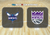 Charlotte Hornets vs Sacramento Kings