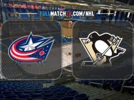 Columbus Blue Jackets vs Pittsburgh Penguins