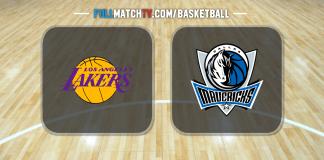 Los Angeles Lakers vs Dallas Mavericks