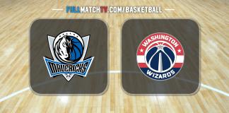 Dallas Mavericks vs Washington Wizards