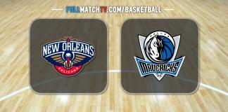 New Orleans Pelicans vs Dallas Mavericks
