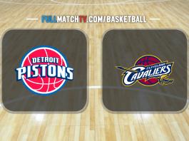 Detroit Pistons vs Cleveland Cavaliers