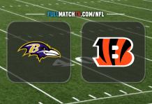 Baltimore Ravens vs Cincinnati Bengals