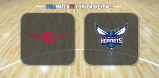Houston Rockets vs Charlotte Hornets