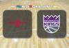 Houston Rockets vs Sacramento Kings