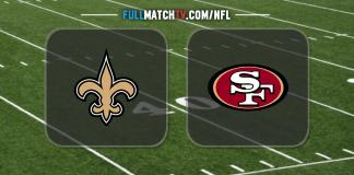 New Orleans Saints vs San Francisco 49ers