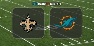 New Orleans Saints vs Miami Dolphins