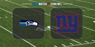 Seattle Seahawks vs New York Giants