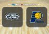 San Antonio Spurs vs Indiana Pacers