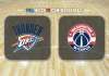 Oklahoma City Thunder vs Washington Wizards
