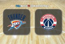 Oklahoma City Thunder vs Washington Wizards