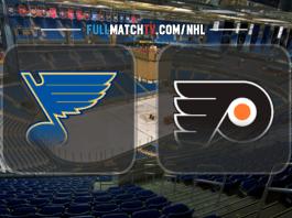 St. Louis Blues vs Philadelphia Flyers