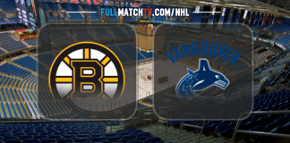 Boston Bruins vs Vancouver Canucks