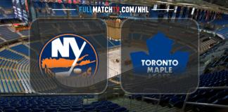 New York Islanders vs Toronto Maple Leafs