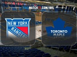 New York Rangers vs Toronto Maple Leafs
