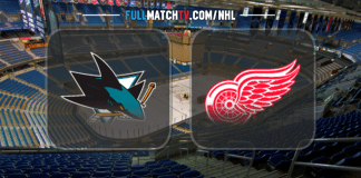 San Jose Sharks vs Detroit Red Wings