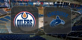 Edmonton Oilers vs Vancouver Canucks