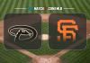 Arizona Diamondbacks vs San Francisco Giants
