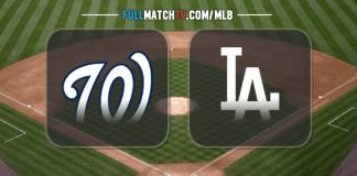 Washington Nationals vs Los Angeles Dodgers