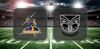 Melbourne Storm vs New Zealand Warriors