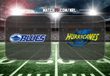 Blues vs Hurricanes