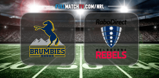 Brumbies vs Rebels