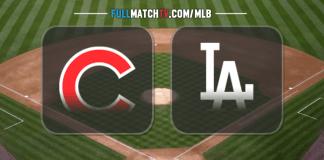 Chicago Cubs vs Los Angeles Dodgers