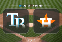 Tampa Bay Rays vs Houston Astros