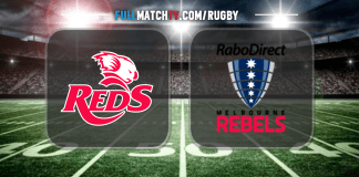 Queensland Reds vs Melbourne Rebels