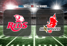 Queensland Reds vs Sunwolves