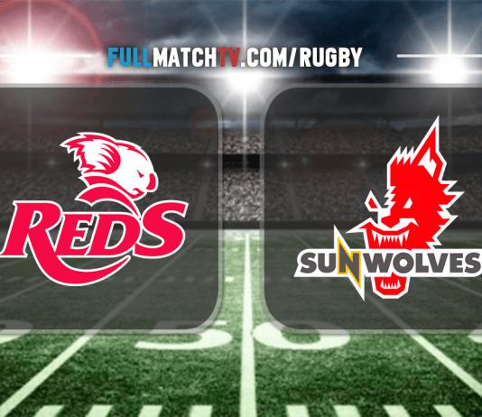 Queensland Reds vs Sunwolves