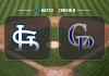 St. Louis Cardinals vs Colorado Rockies