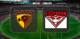 Hawthorn Hawks vs Essendon Bombers