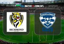Richmond Tigers vs Geelong Cats