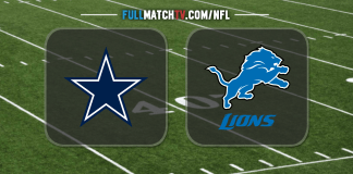 Dallas Cowboys vs Detroit Lions