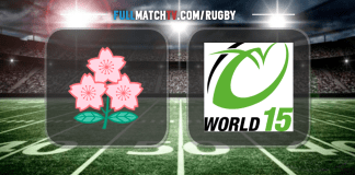 Japan vs World XV