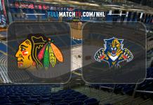 Chicago Blackhawks vs Florida Panthers