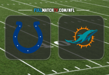 Indianapolis Colts vs Miami Dolphins