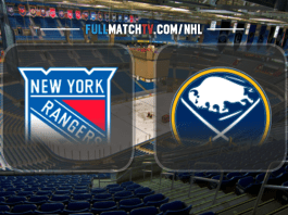 New York Rangers vs Buffalo Sabres