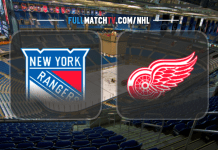 New York Rangers vs Detroit Red Wings
