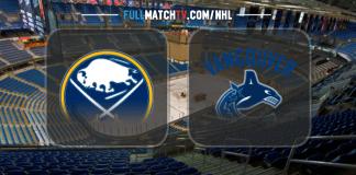 Buffalo Sabres vs Vancouver Canucks
