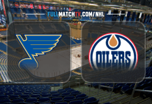 St. Louis Blues vs Edmonton Oilers