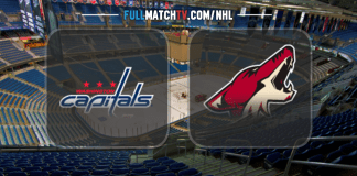 Washington Capitals vs Arizona Coyotes