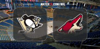 Pittsburgh Penguins vs Arizona Coyotes