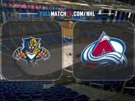 Florida Panthers vs Colorado Avalanche
