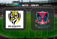 Richmond Tigers vs Melbourne Demons